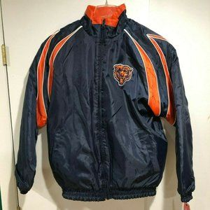 NWT Chicago Bears NFL Men's Zip Lined Jacket